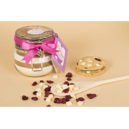 White Chocolate And Cranberry Cookie Jar