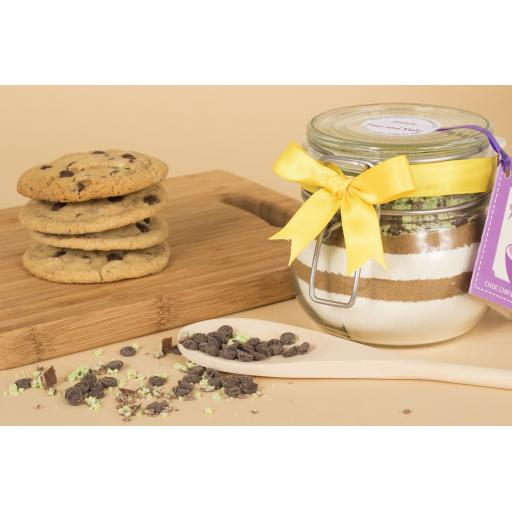 Choc Chip And Mint Cookie Jar