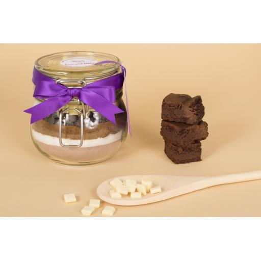Double Choc Chip Brownies Cookie Jar