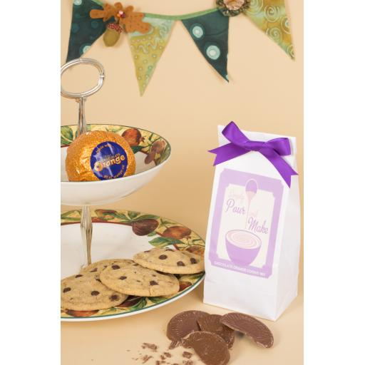 Chocolate Orange Cookie Bag